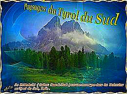 diaporama pps Paysages du Tyrol du sud
