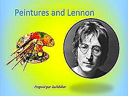 diaporama pps Peintures and Lennon