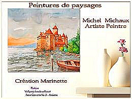 diaporama pps Peintures de paysages – Michel Michaux