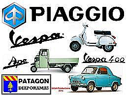 diaporama pps Piaggio Vespa ape et Vespa 400