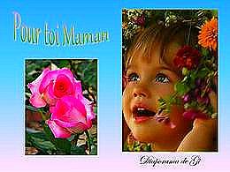 diaporama pps Pour toi maman