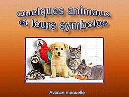diaporama pps Quelques animaux et leurs symboles