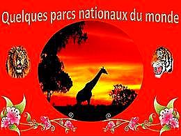 diaporama pps Quelques parcs nationaux du monde