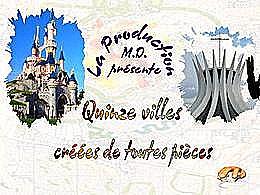 diaporama pps Quinze villes créées de toutes pièces
