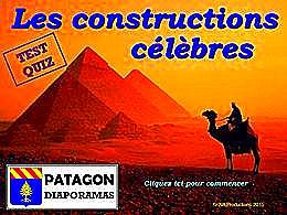 diaporama pps Quiz constructions célèbres