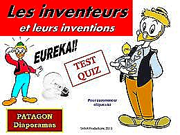 diaporama pps Quiz inventions