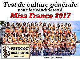 diaporama pps Quiz miss France 2017
