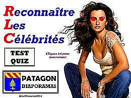 diaporama pps Quiz reconnaitre les célébrités