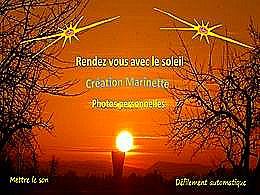 diaporama pps Rendez vous avec le soleil citations