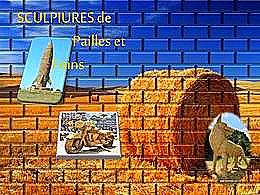 diaporama pps Sculptures de pailles et foins