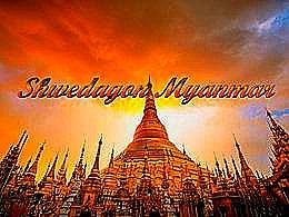 diaporama pps Shwedagon Myanmar