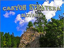diaporama pps Slovaquie – Marche dans le Canyon Stratená
