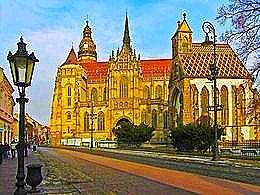 diaporama pps Slovaquie – Košice la ville historique