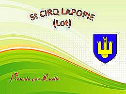 diaporama pps Saint-Cirq-Lapopie