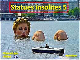 diaporama pps Statues insolites 5