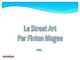 diaporama pps Street art par Fintan Magee 3