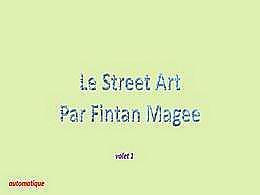 diaporama pps Street art par Fintan Magee