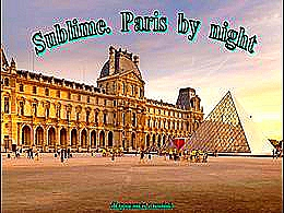 diaporama pps Sublime Paris by night