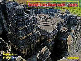 diaporama pps Temple Kailashnath – Inde