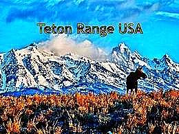 diaporama pps Teton Range USA