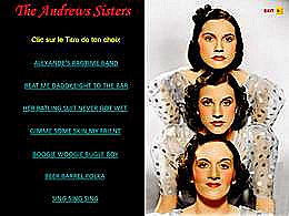diaporama pps The Andrews Sisters I