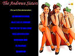 diaporama pps The Andrews Sisters III
