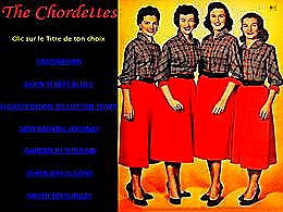 diaporama pps The Chordettes III