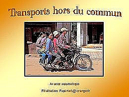 diaporama pps Transport hors du commun