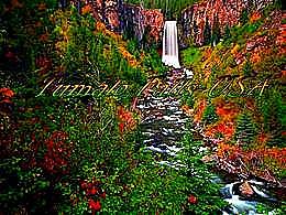 diaporama pps Tumalo Falls USA