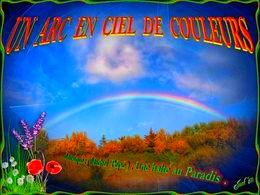 diaporama pps Un arc en ciel de couleurs