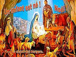 diaporama pps Un enfant est né Noël