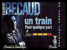 diaporama pps Un train pour quelque part – Gilbert Bécaud