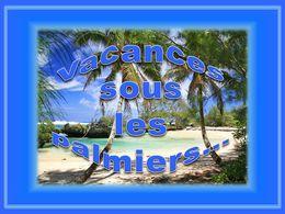 diaporama pps Vacances sous les palmiers