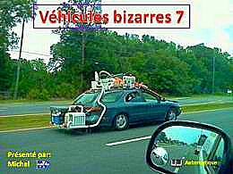 diaporama pps Véhicules bizarres 7