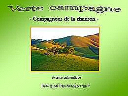 diaporama pps Verte campagne