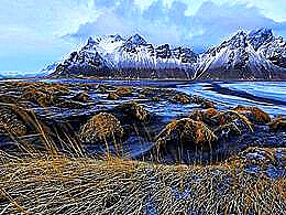 diaporama pps Vestrahorn iceland