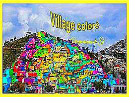 diaporama pps Village coloré