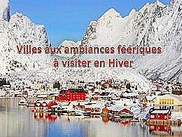 diaporama pps Villes aux ambiances féériques à visiter en hiver