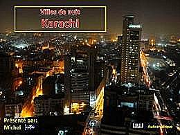 diaporama pps Villes de nuit – Karachi