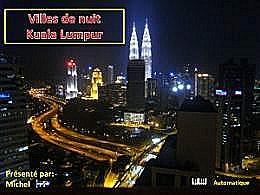 diaporama pps Villes de nuit – Kuala Lumpur