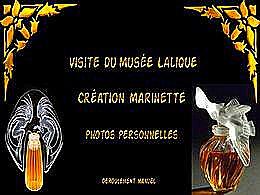 diaporama pps Visite au musée Lalique