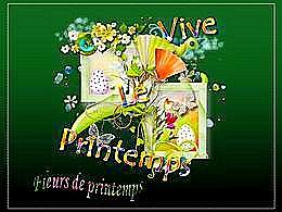 diaporama pps Vive le printemps – Fleurs de printemps