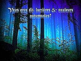 diaporama pps Lumières et couleurs automnales