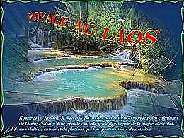 diaporama pps Voyage au Laos