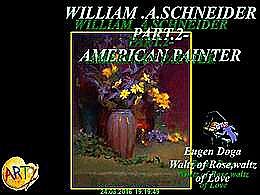 diaporama pps William A. Schneider part 2 american painter