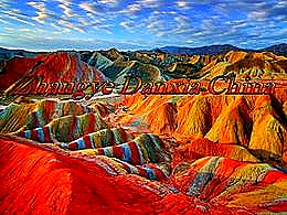 diaporama pps Zhangye Danxia china