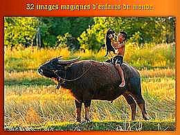 diaporama pps 32 images magiques d'enfants du monde