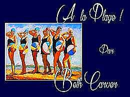 diaporama pps A la plage Beth Carver