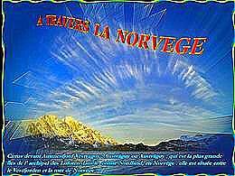 diaporama pps A travers la Norvège