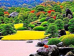 diaporama pps Adachi Museum gardens japan